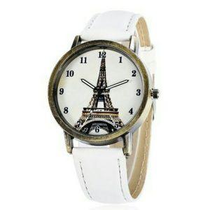White Tower Pattern Watch